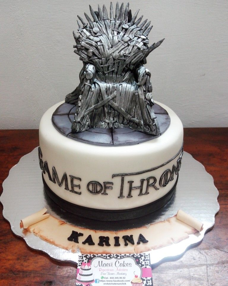 Game Of Thrones Cake Game Of Thrones Cake Game Of Thrones Birthday Game Of Thrones Party