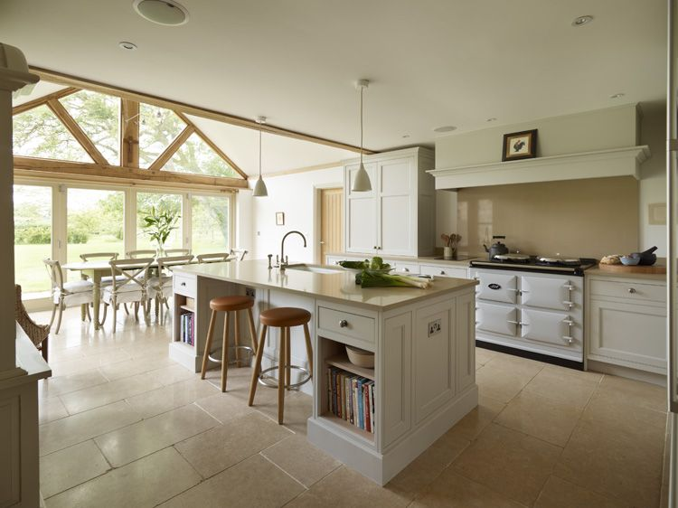 Contemporary Kitchen With Aga Google Search Kitchen Pinterest Orchards Aga And Interiors