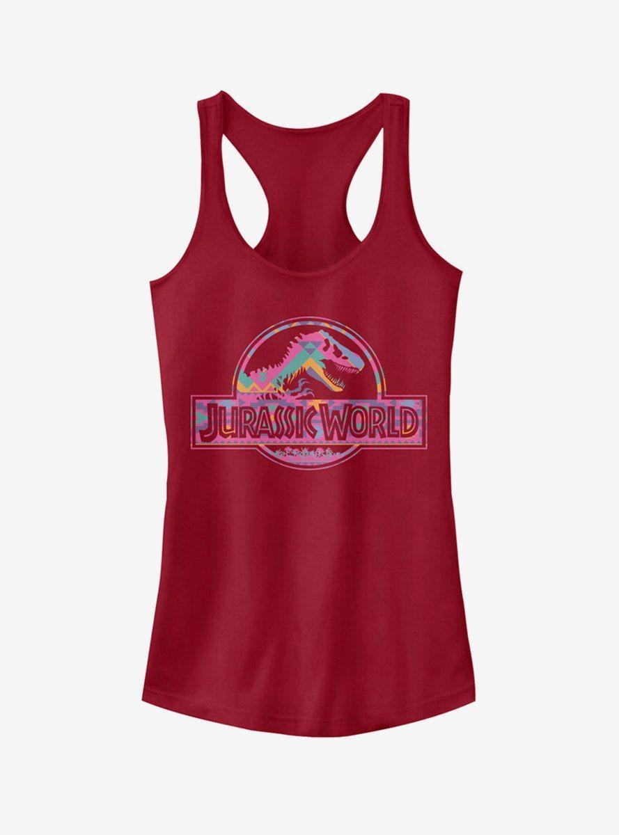 fad74283 Desert Pattern Logo Girls Tank in 2019 | Products | Jurassic park ...