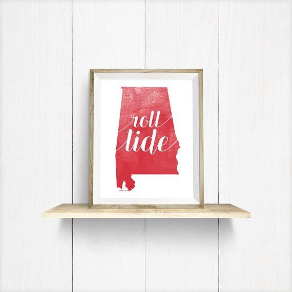 ash college football decor crimson image canvas wall team alabama unframed art product products tide framed print