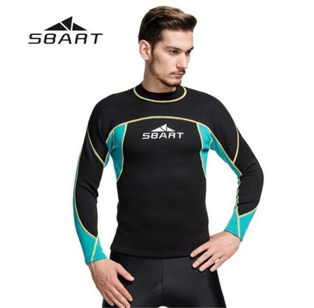 3ec43ec9f6 Surfing Surfer Slacker T-shirt SBART 2MM Wetsuit Shirt Mens Neoprene T  Shirts Surfing Wetsuits Top Men Diving Swimming T-shirt Surf Long Sleeve  Rashguard ...