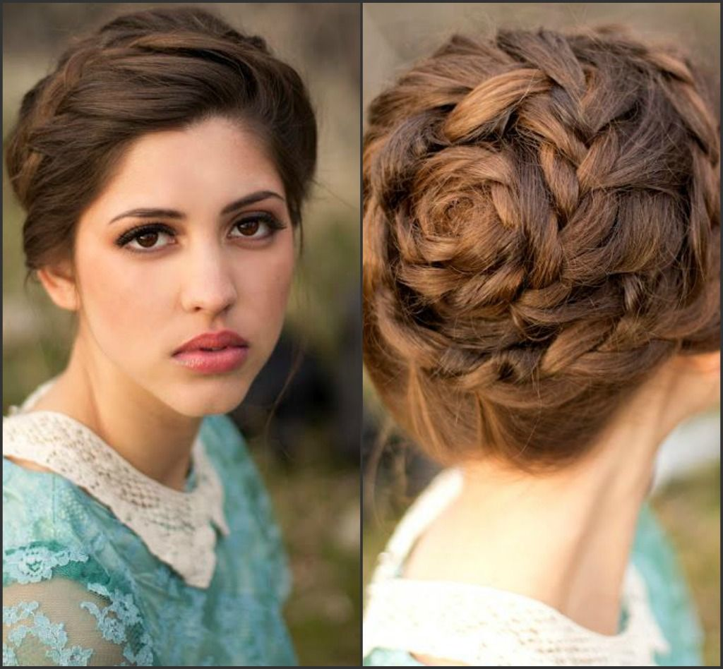 Braid swirl everything vain pinterest hair style