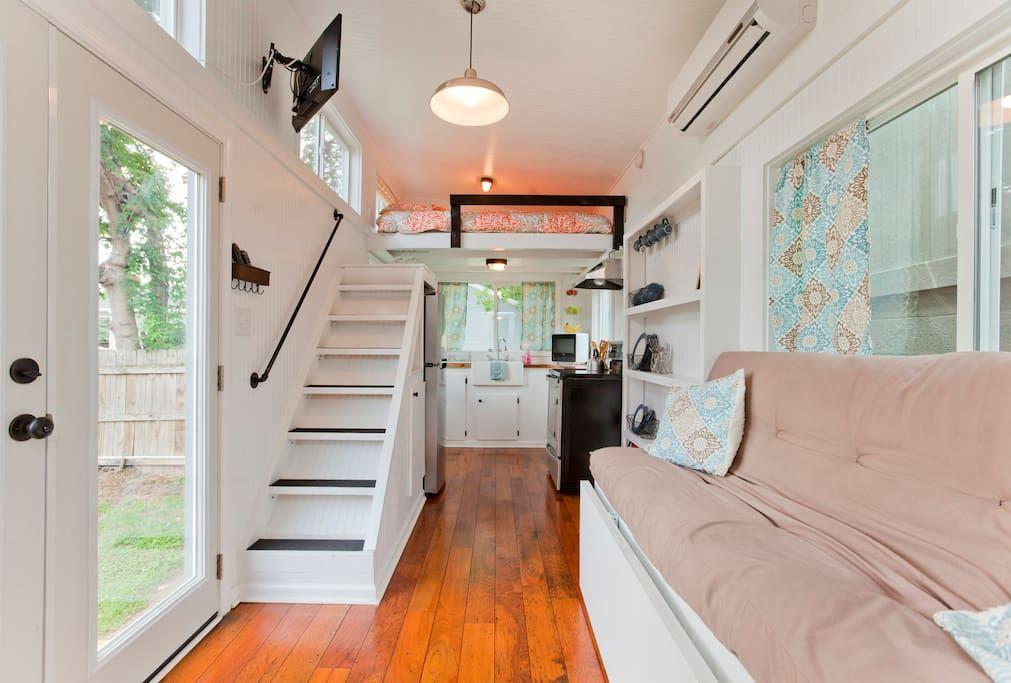 Music City S Tiny House Häuser Zur Miete In Nashville
