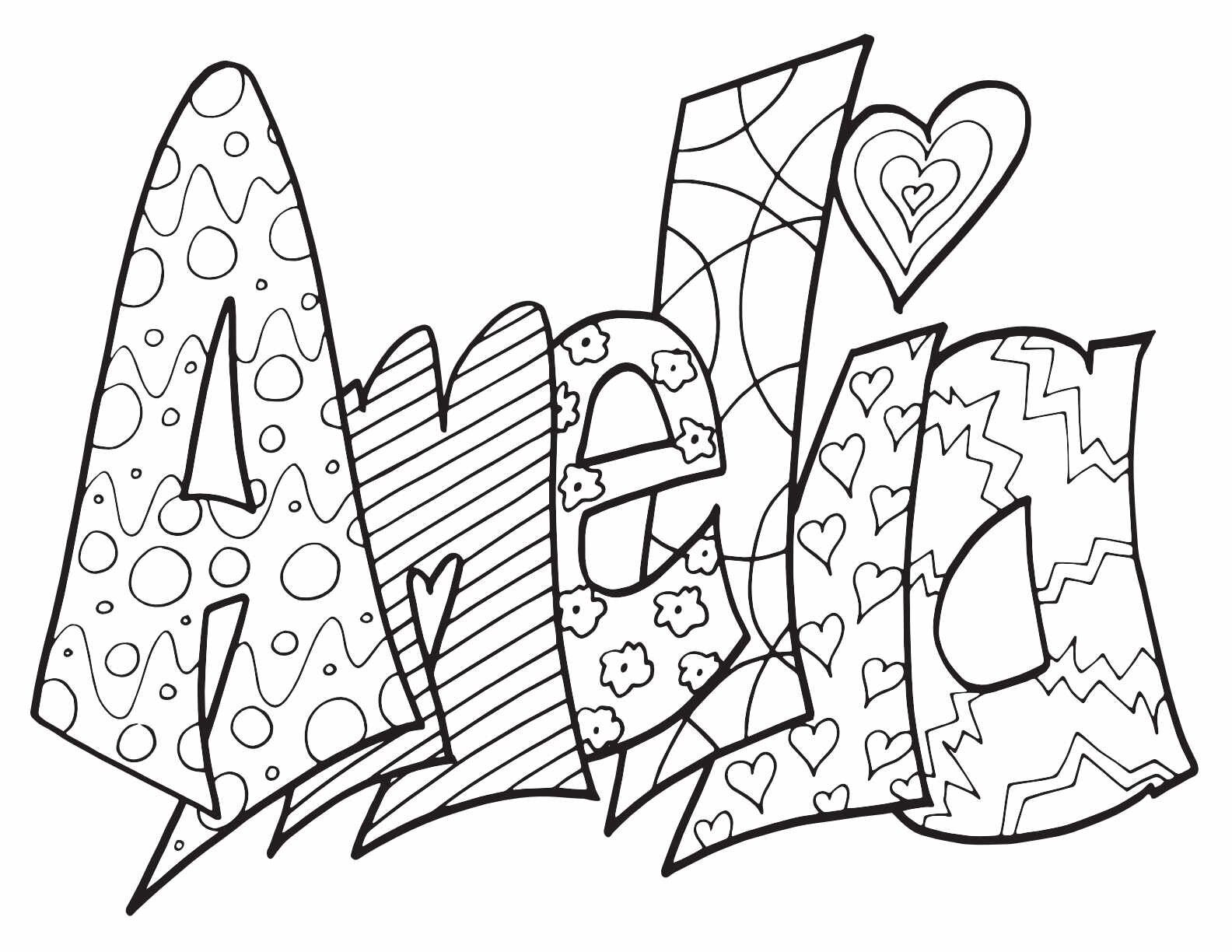 Most Popular Girls Names 2019 Stevie Doodles Unicorn Coloring Pages Name Coloring Pages Free Coloring Pages