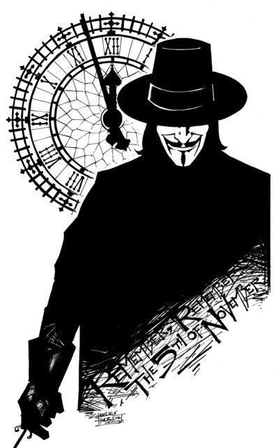 Kidstuff V For Vendetta By Kidnotorious V For Vendetta Tattoo V For Vendetta Vendetta Tattoo