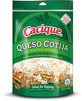 Queso Cotija Grated Cheese Cacique Inc Cooking Cream Mexican Dishes Mexican Food Recipes
