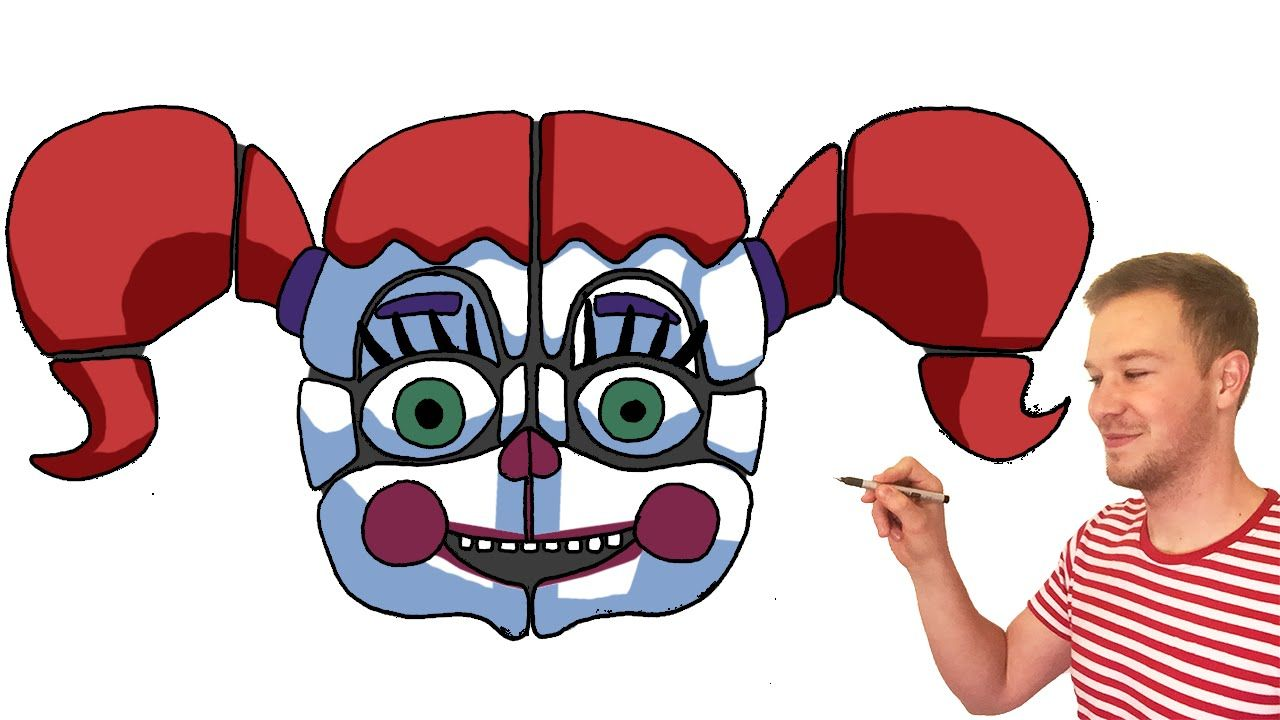 How to Draw Baby from FNaF Sister Location Characters Preview