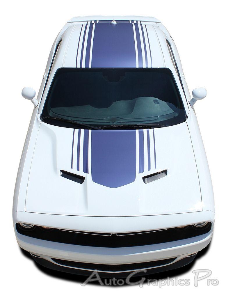 2015 2016 dodge challenger shaker mopar oem style hood roof trunk rally vinyl - Dodge Challenger 2015 Exterior