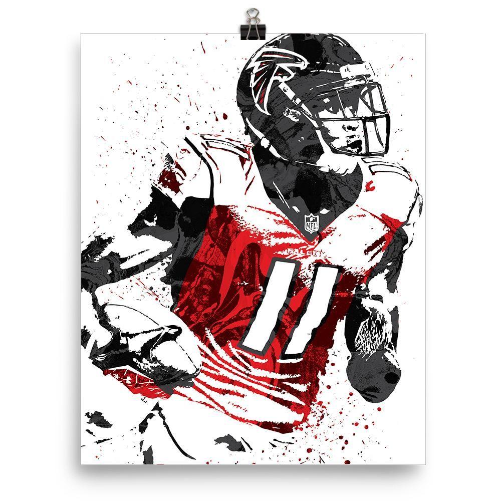 Julio Jones Atlanta Falcons Poster Atlanta Falcons Poster Atlanta Falcons Art Atlanta Falcons Pictures