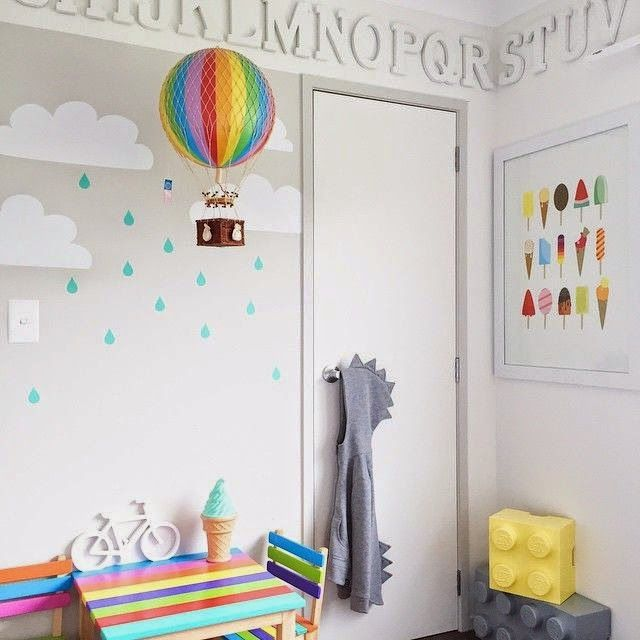 Rainbow Themed Room: The Boo And The Boy: Kids' Rooms On Instagram In 2019