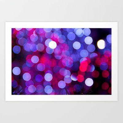 Bokeh Art Print by alysoncornmanphotography - $22.88