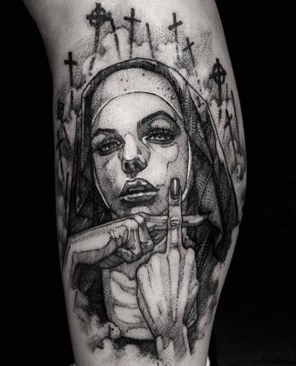 Photo of Tattoo leg line sleeve 53 ideas