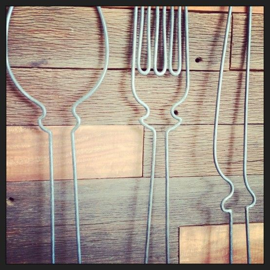 Fork And Spoon Wall Art hobo knife fork and spoon wall art | hobo products | pinterest