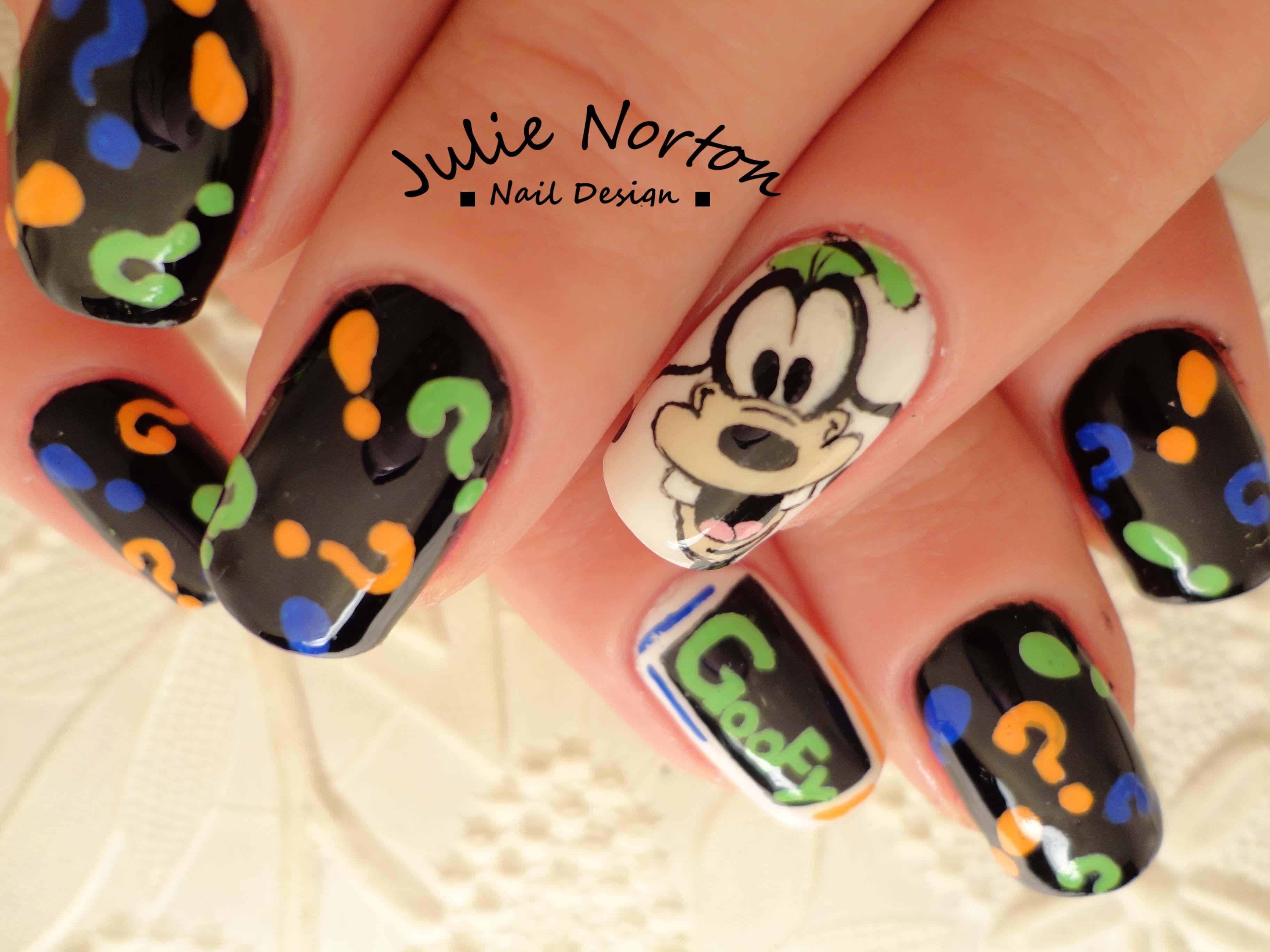 Goofy Nails   Some of my Nail Art   Pinterest