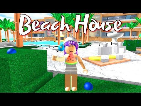 Roblox Beach House Roleplay Radiojh Games Gamer Chad Youtube