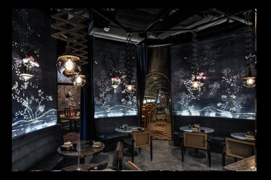 A Hong Kong Underground Restaurant Wins 'World's Best Interior' Of 2014 11
