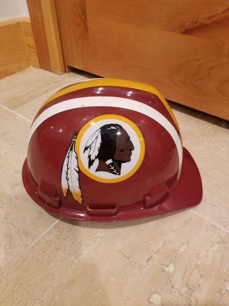 9ca0b0f19 NFL Washington Redskins Hard Hat MSA Brand Construction Collectible DC  Football  msa  WashingtonRedskins