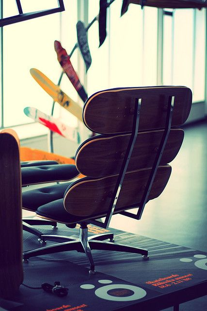 Skate Chair Home Skateboard Furniture Wooden Office