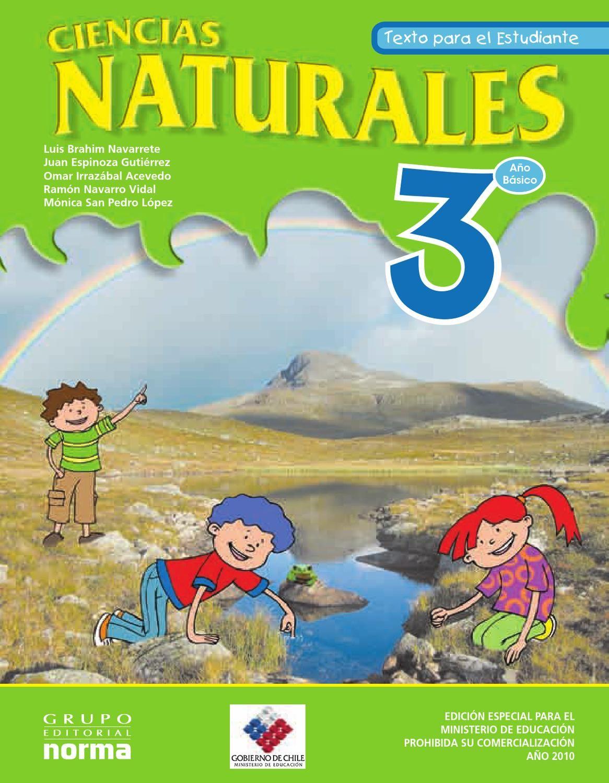Ciencias Naturales 3 Basico Primaria Ciencias Naturales Libros De Tercer Grado Texto De Ciencias Naturales