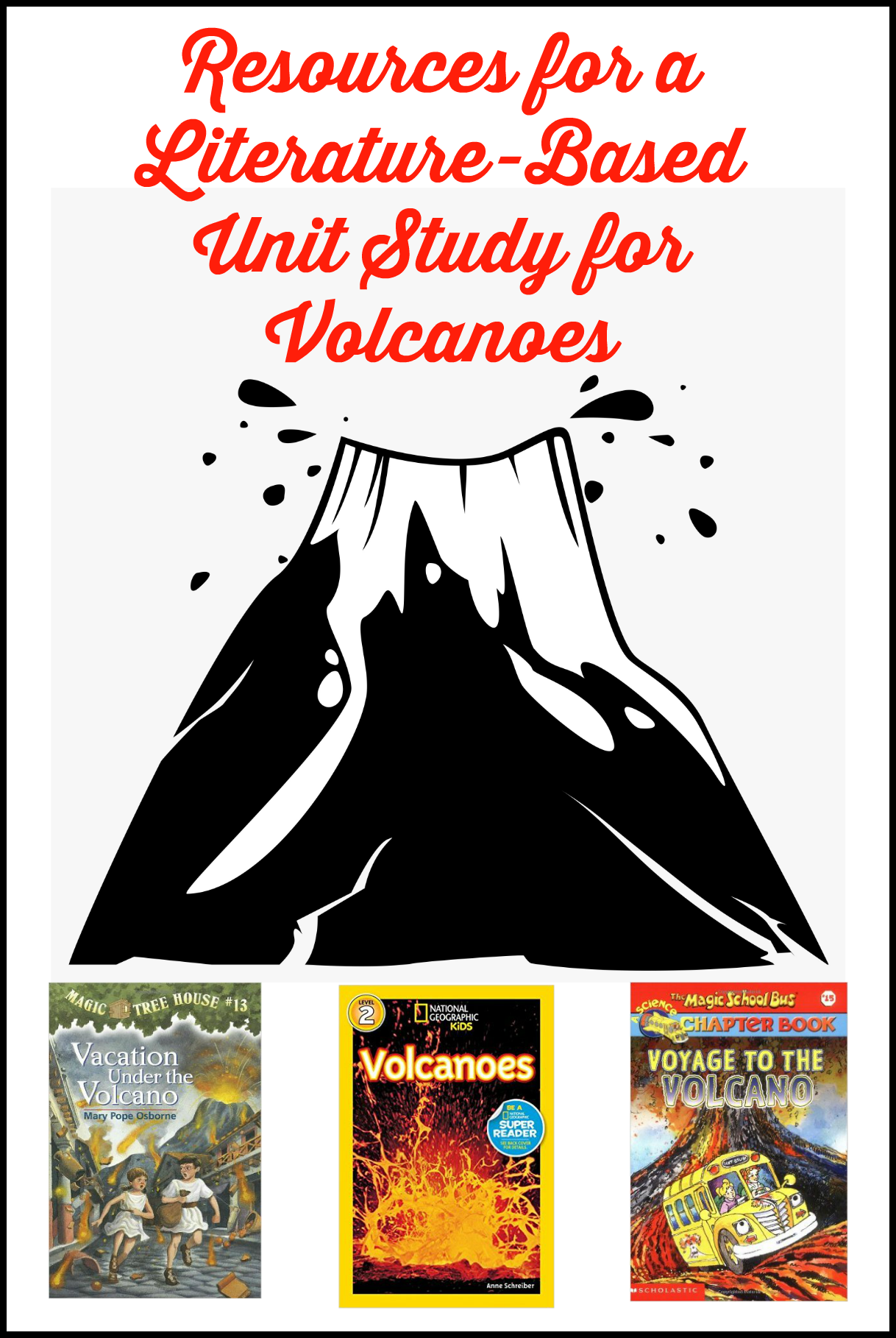 Unit Study Resources For Learning About Mt Vesuvius