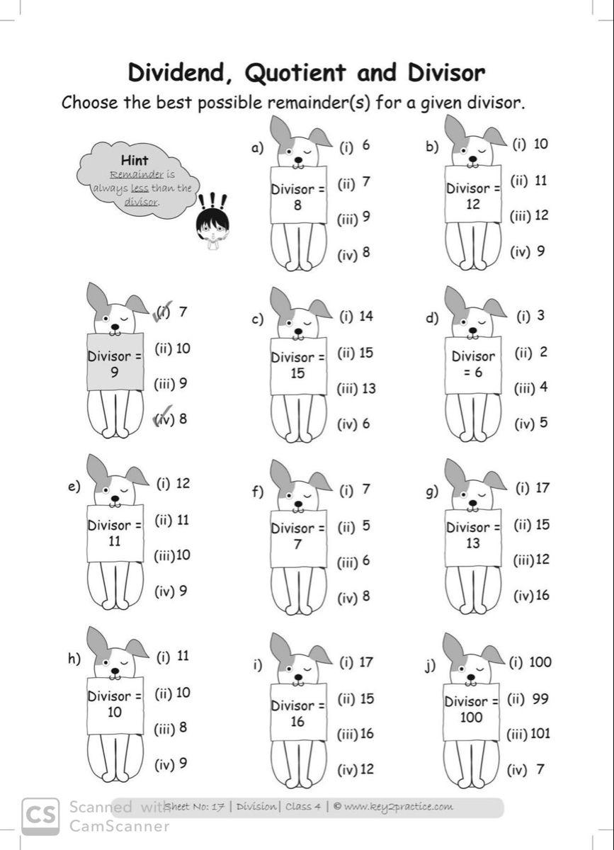 Grade 4 Division Worksheets I Maths Key2practice Workbooks Money Math Worksheets 4th Grade Math Worksheets Division Worksheets [ 1200 x 867 Pixel ]