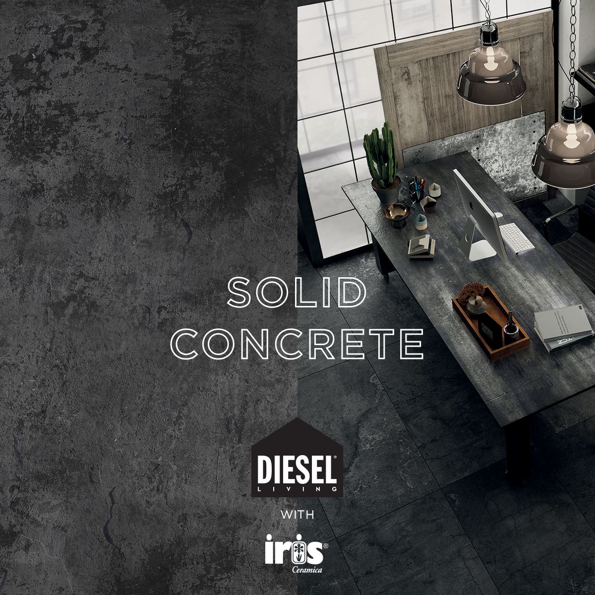 What a strong style irisceramica dieselliving interiordesign italian ceramic tile flooring stone look porcelain floor tiles kitchen and bathroom wall tile ceramic tile patterns of italy decorating ideas and dailygadgetfo Images