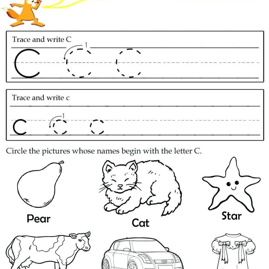Letter C Worksheets For Free Download