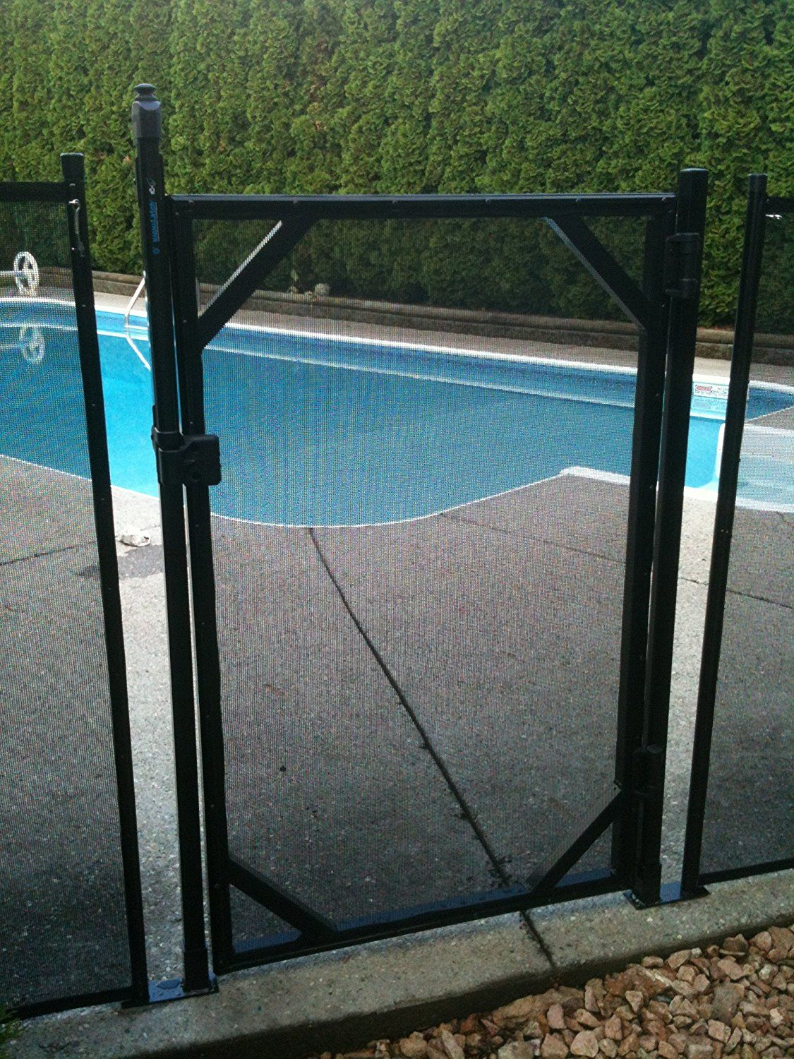 Water Warden Self Closing Gate 4 Want Additional Info Click On The Image This Is An Affiliate Link Mypet Pool Safety Fence Pool Gate Pool Safety