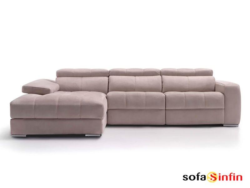 Sofá con chaise-longue modelo Elegant fabricado por Divani Star en ...