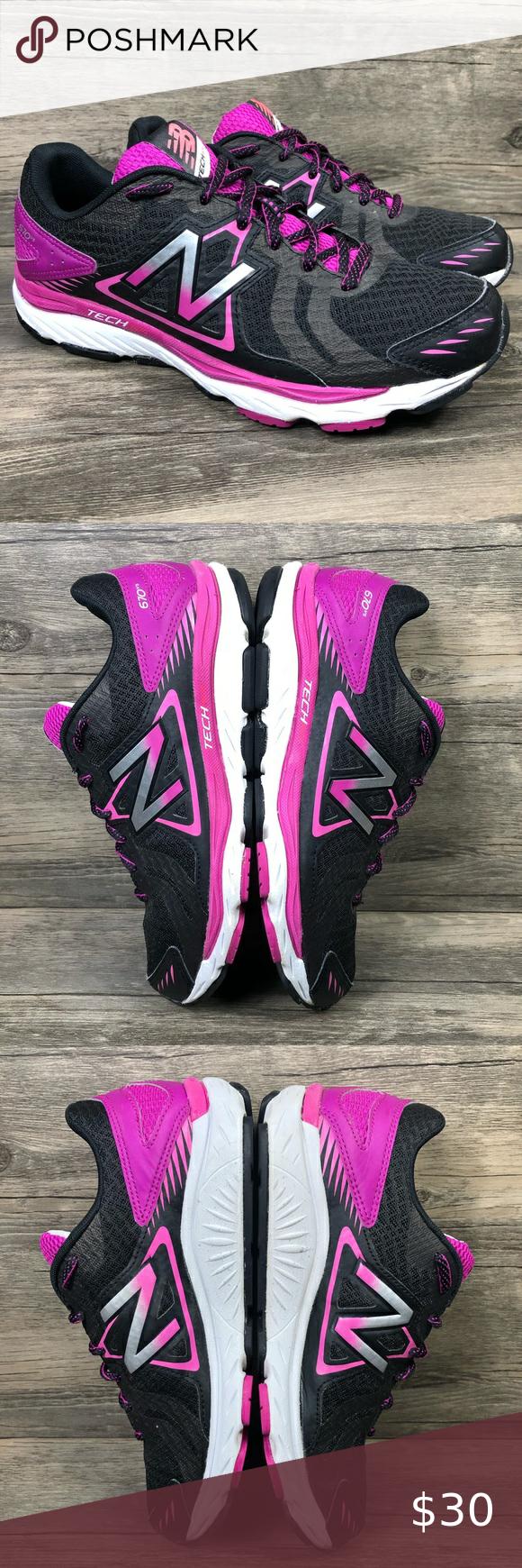 New Balance Tech Ride Black 670 v5 Running Shoes | Running shoes ...
