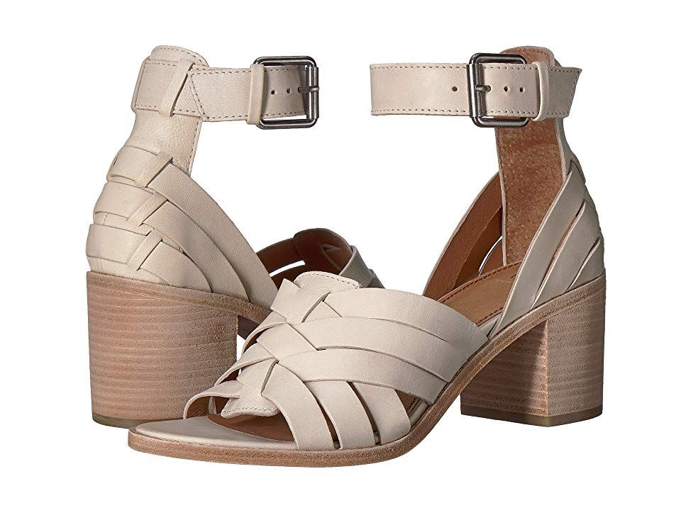 71d8e0815bc4 Frye Bianca Huarache Two-Piece (White) Women s Sandals. The elegant style  of the Frye Bianca Huarache Two-Piece sandal will elevate every summer look!