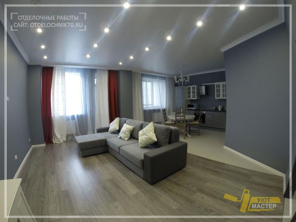 Отделка квартир в Томске под ключ 48 м2, 12 фото ...