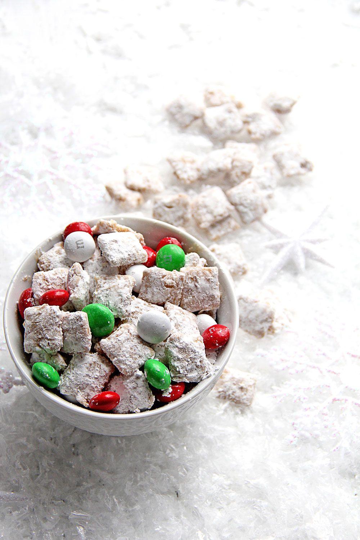 Eggnog Muddy Buddies Grandbaby Cakes Christmas Food Christmas Snacks Pretzel Treats