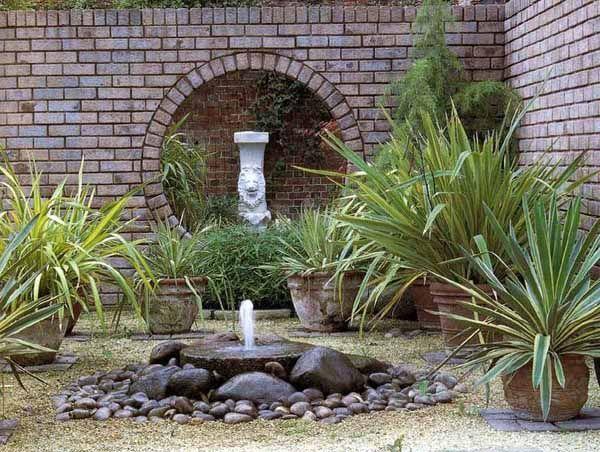Diy Backyard Ideas Inspiring And Simple Water Fountain 640 x 480