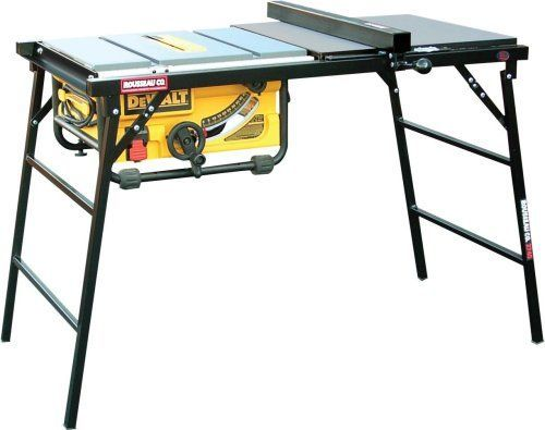 Full Scale Table Saw Setup I Quick Set Up I Tube Steel Legs W X2f Locking Hinge Supports I Rip Capacity To 27 Table Saw Accessories Table Saw Stand Table Saw