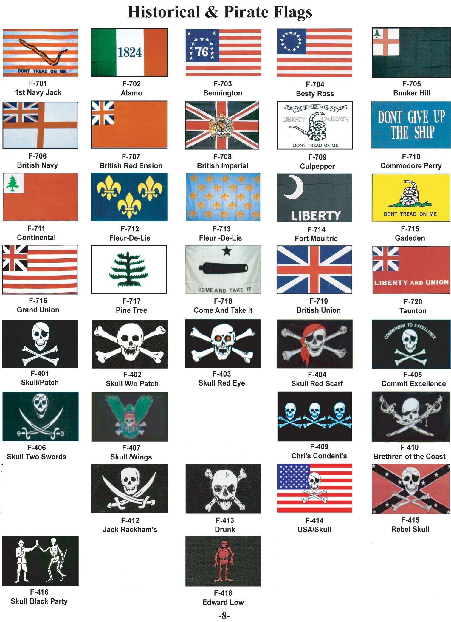 famous pirate flags - Google Search