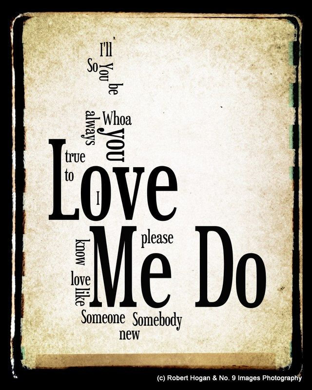 The Beatles Love Me Do Filosofos Frases Cumple