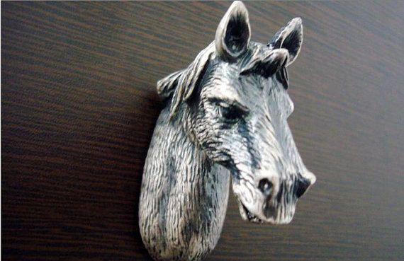 Horse Design Animal Cabinet Knobs Knobs / Dresser Knobs / Drawer Knobs /  Drawer Pull Handles