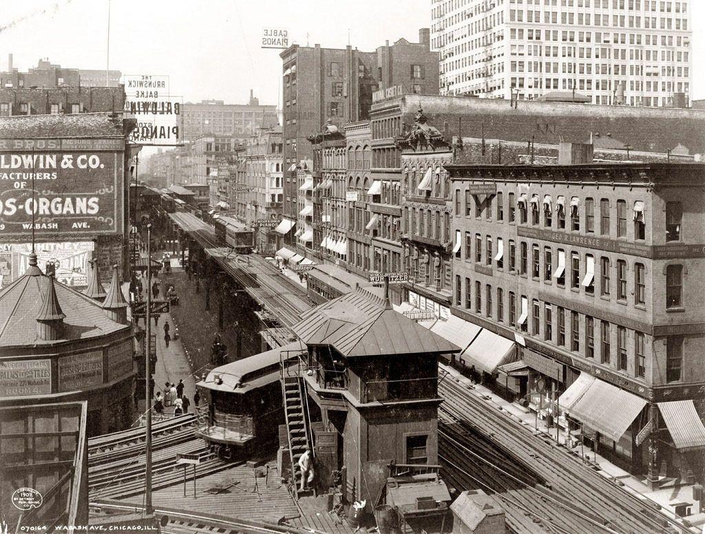 Американские города 100 лет назад