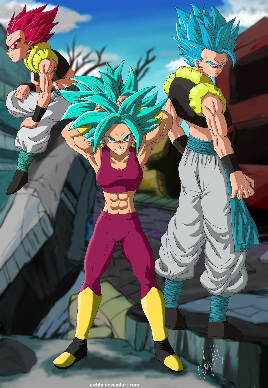 Kefla, Gogeta & Gotenks. | Anime dragon ball super, Dragon ...