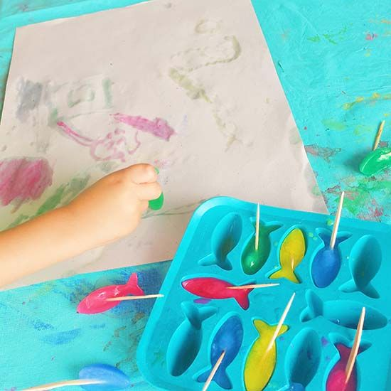 Verão – Ideias para os pequenos artistas