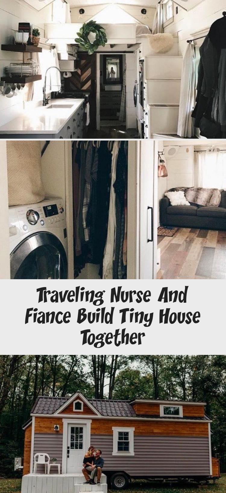 Traveling Nurse and Fiance Build Tiny House Together Tiny House Movement // Tiny...,  #Build #diyhomebuildingtinyhouses #Fiance #HOUSE #Movement #Nurse #tiny #Traveling
