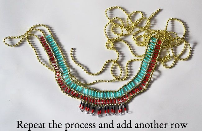 A matter of style diy fashion tribal egyptian necklace diy diy a matter of style diy fashion tribal egyptian necklace diy solutioingenieria Gallery
