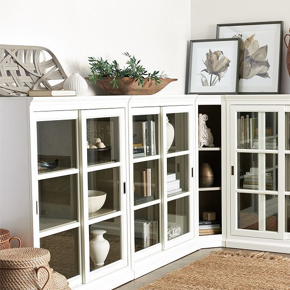 Cortona Library Bookcase | Pinterest | Corner, Base moulding and ...