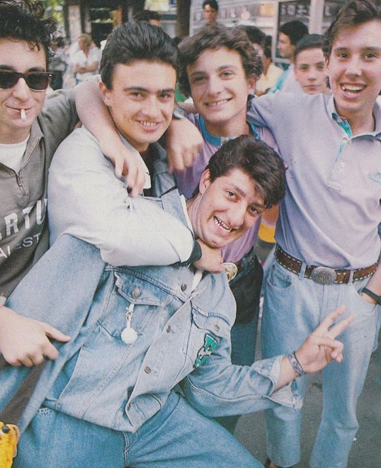Paninaro Style back in the 80s   Style   Pinterest