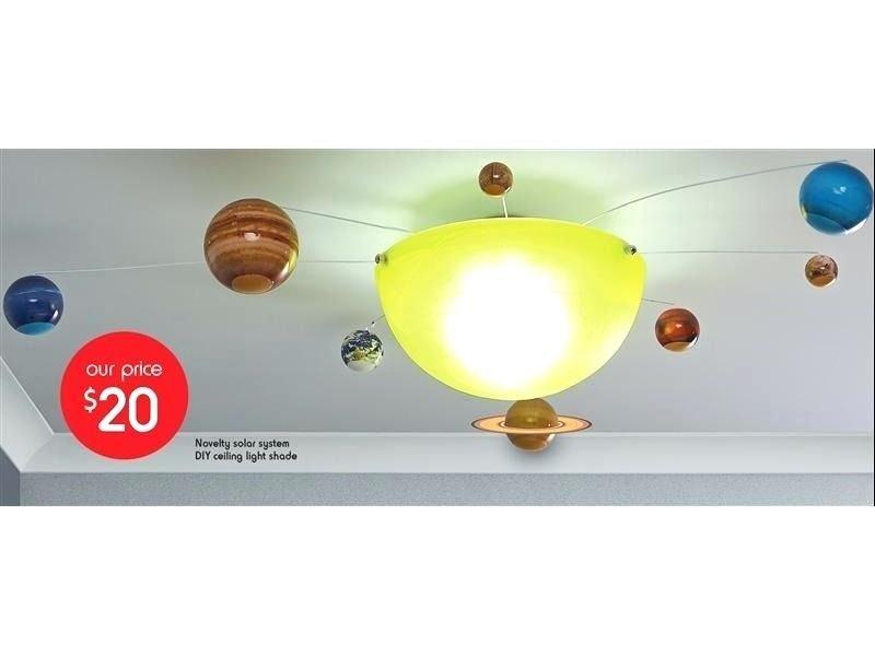 Solar System Ceiling Lights Novelty