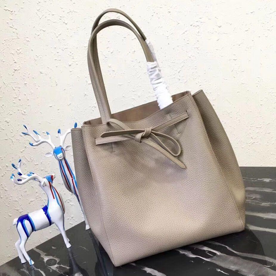 Celine Small Cabas Phantom In Soft Grained Calfskin Clay 2018 Handbags Bags