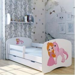 Photo of Funktionsbett Prinzessin Unicorn mit Matratze und Schublade