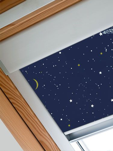 Expressions Starry Night Blackout Blind For Velux Windows Blackout Blinds Blinds For Velux Windows Blinds For Windows