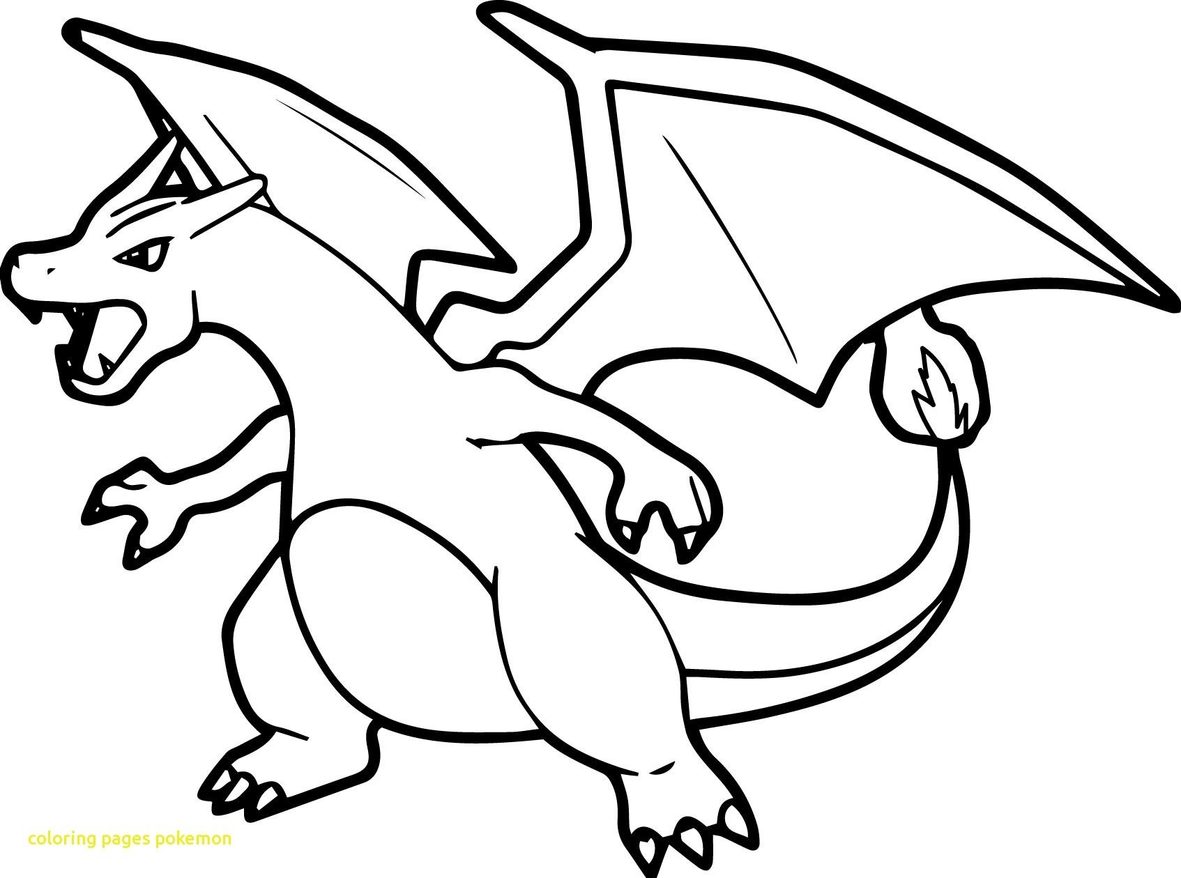 image about Charizard Printable known as Refreshing Pokemon Charizard Coloring Internet pages Choice Printable